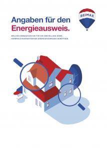 Checkliste RE/MAX Energieausweis