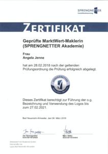 MarktWertMaklerin Angela